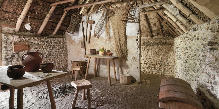 Medieval house from Hangleton reconstruction
