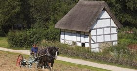 Poplar Cottage at the Weald & Downland Living Museum