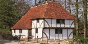 Medieval house from Sole Street at the Weald & Downland Living Museum