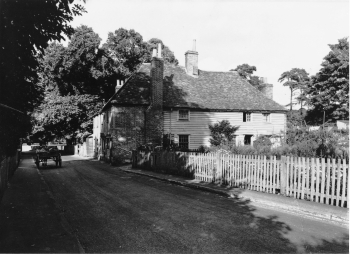 The house on its original site