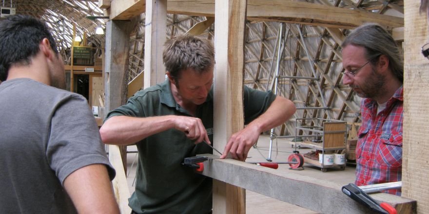 Courses Timber Framing Weald And Downland