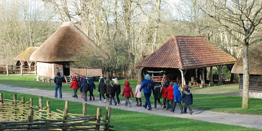 Schools visits to the Weald & Downland Living Museum