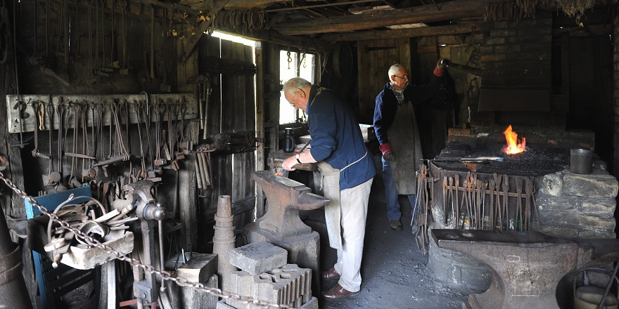 Victorian smithy