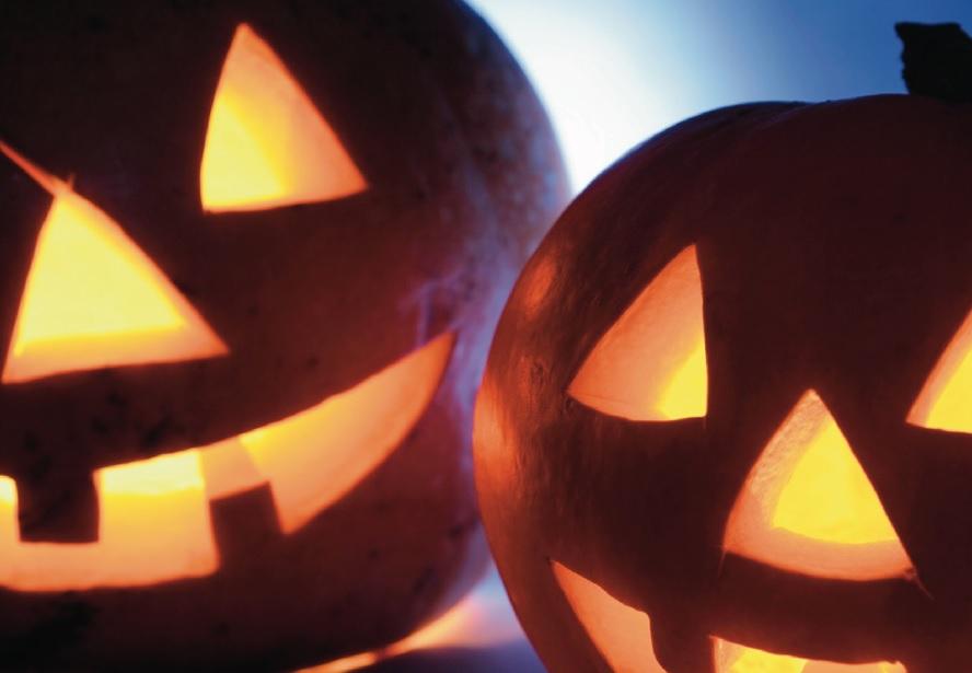 Hallowe'en Half Term Activities