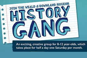 History Gang - Get involved page small image