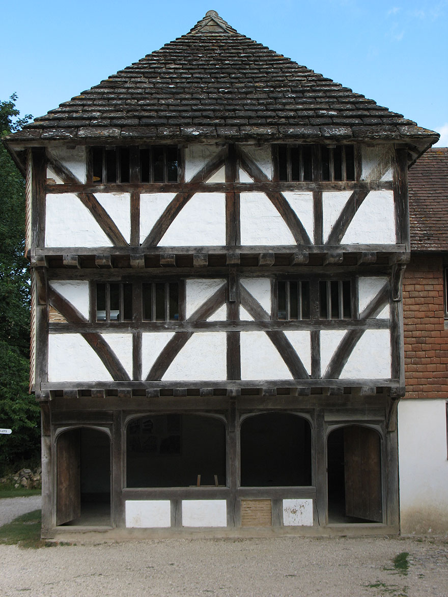 Medieval Shop From Horsham Weald And Downland