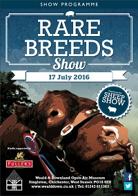 Rare Breeds show programme 2016 cover image