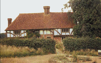 Bayleaf on its original site at Chiddingstone.