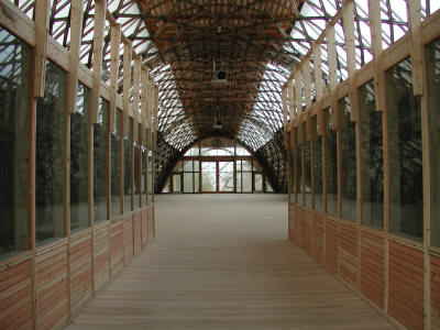 The Jerwood Gridshell Space - workshop area