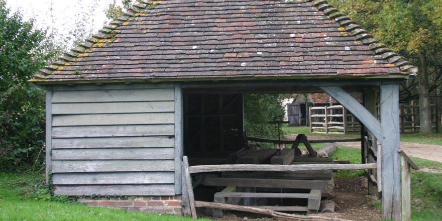 sawpit shed