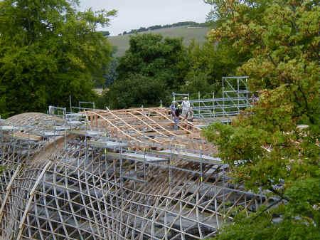 gridshell roof frames
