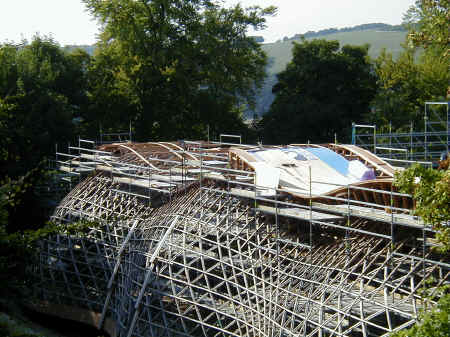 gridshell roof insulation