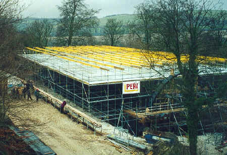 gridshell scaffolding