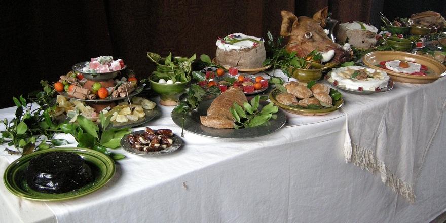 Bayleaf farmhouse's Christmas table