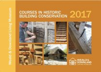 Historic building conservation courses brochure