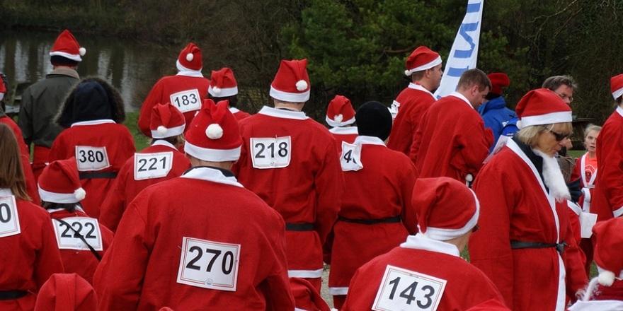 St Wilfrid's Santa Sprint & Stroll