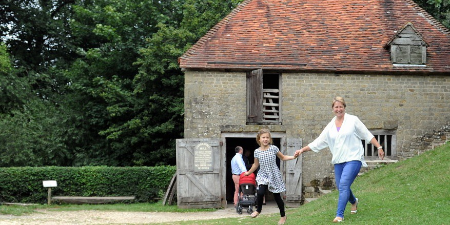 Family fun at the Weald & Downland Museum,