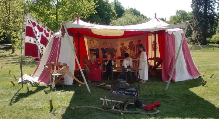 15th century encampment