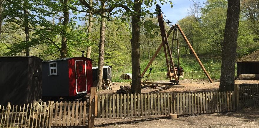 working woodyard - Weald & Downland Museum