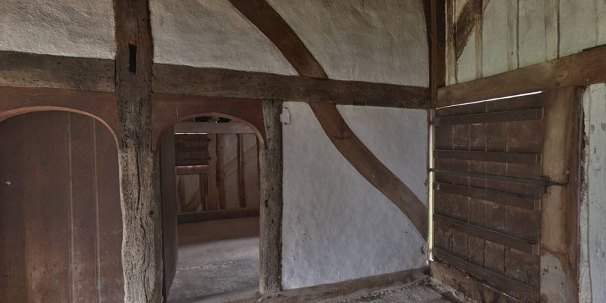 Medieval House From North Cray Weald And Downland