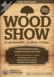 Wood Show programme 2017 - small image of cover