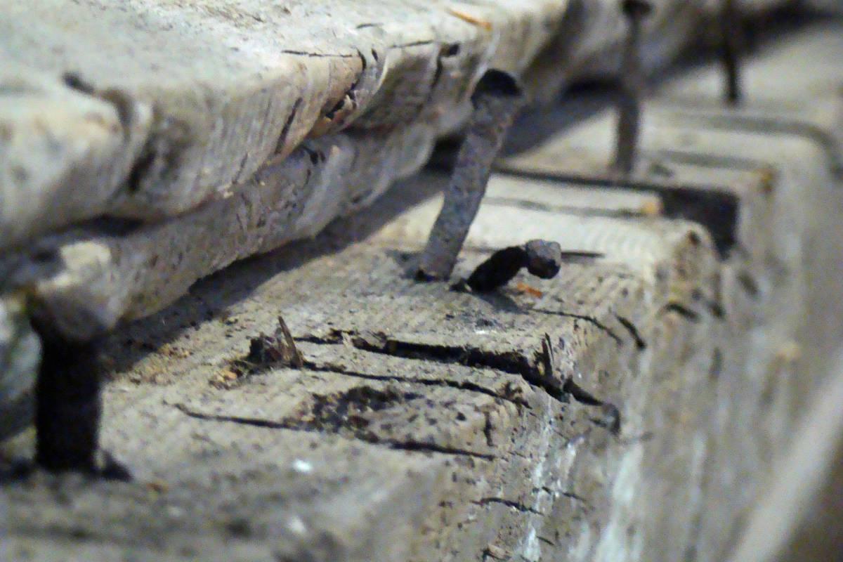 May Day Farm detail of nails