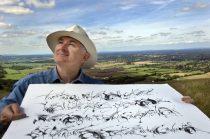 Craftsman Ewan Clayton calligrapher