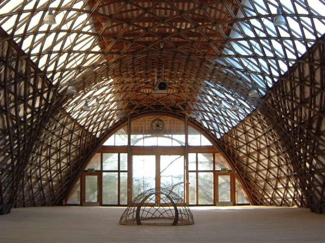 Jerwood Gridshell space