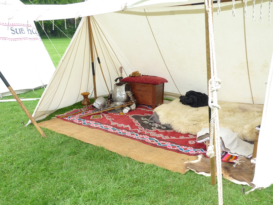 15th century encampment