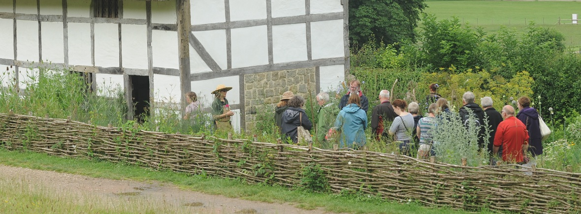 Photo of historic gardens tour at the Weald & Downland Living Museum