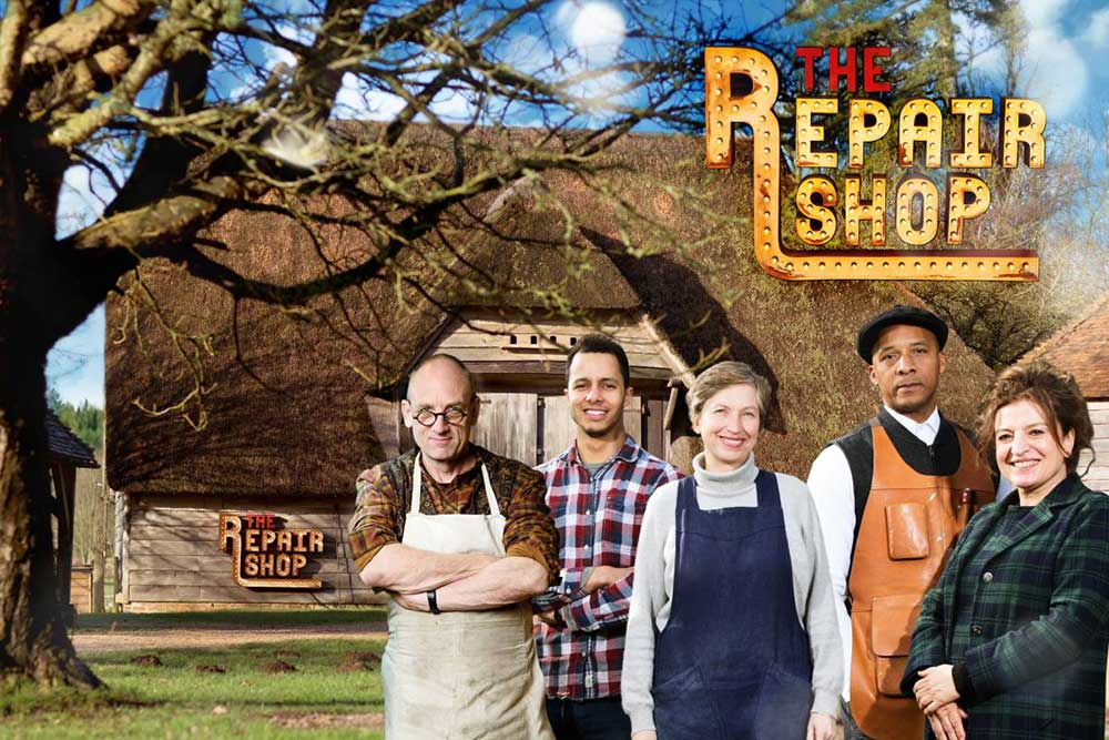 The Repair Shop BBC TV, filmed at the Weald & Downland Living Museum