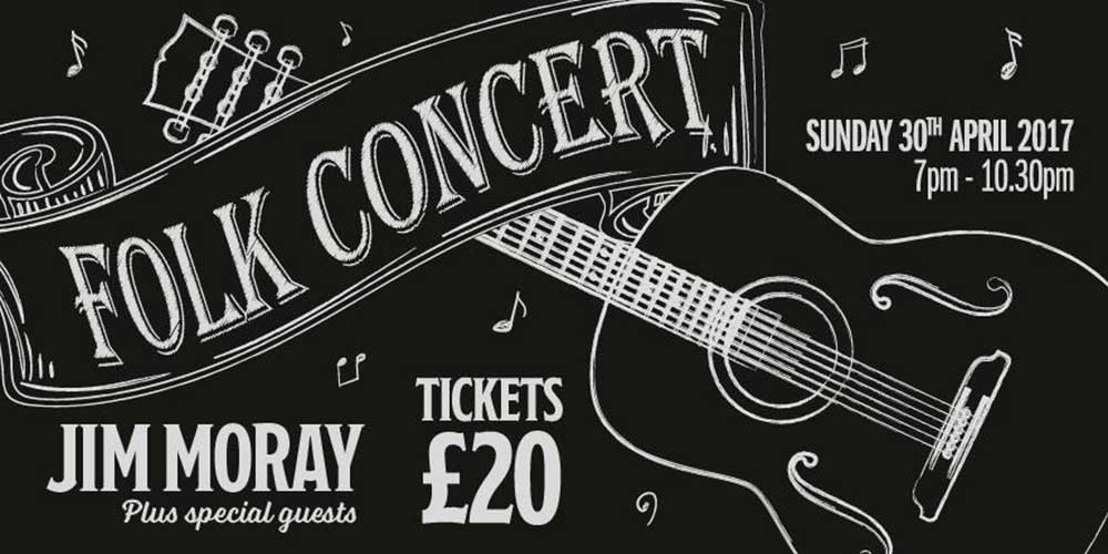 Folk concert with Jim Moray at the Weald & Downland Living Museum