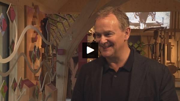 ITV Meridian stilll - Hugh Bonneville opens Weald & Downland Museum's new visitor centre - 18 May 2017