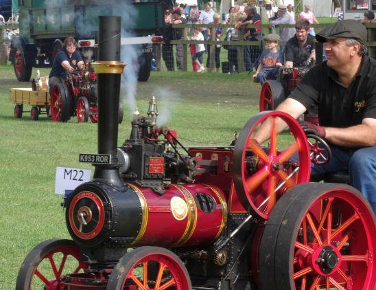 Engine parade