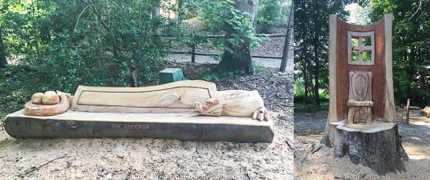 Knucker sculptures image