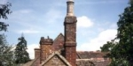 Newdigate bakehouse - chimney detail
