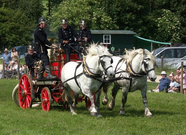St Giles steam fire engine