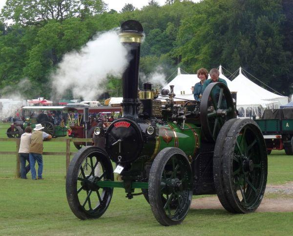 Working steam engine