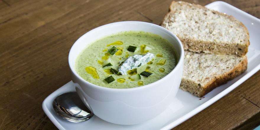seasonal soups at the Wattle & Daub cafe