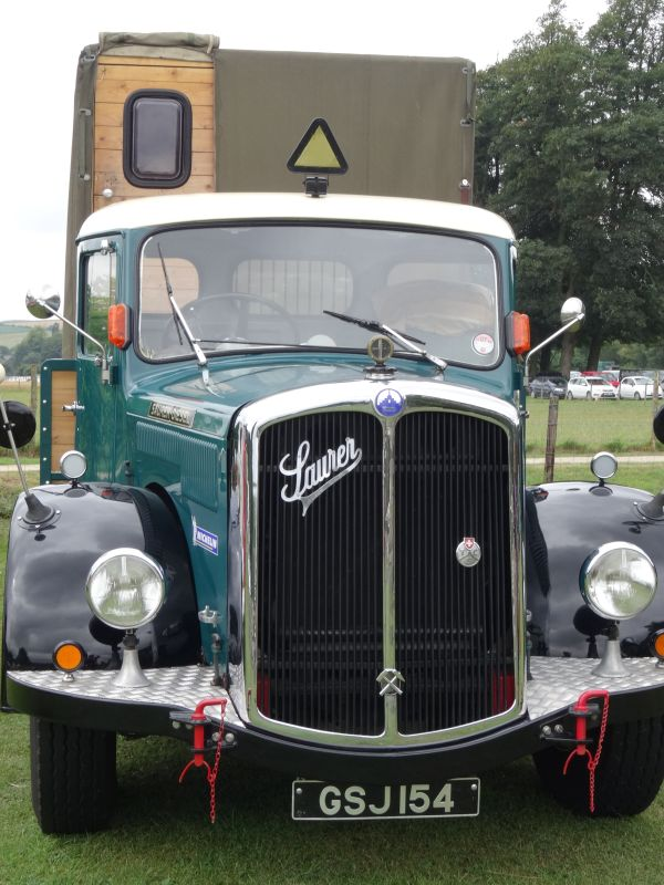 Vintage commercial vehicle