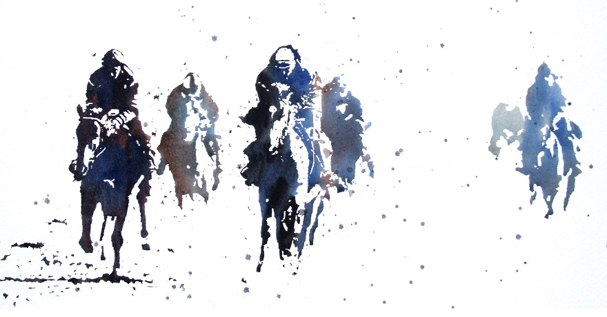 Early morning gallops - Jeremy Houghton