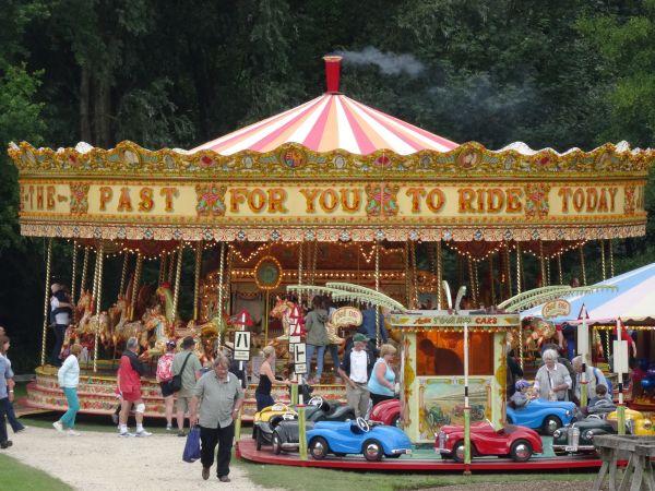 Fairground merry-go-round