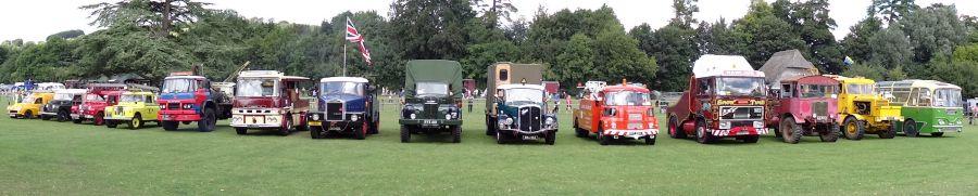 Vintage car display