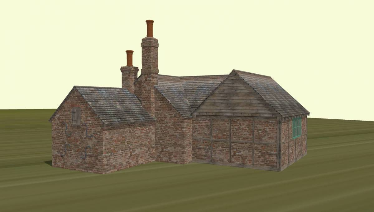 Artist's impression - Newdigate Bakehouse