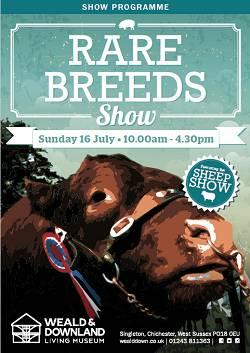 Rare Breeds Show programme 2017