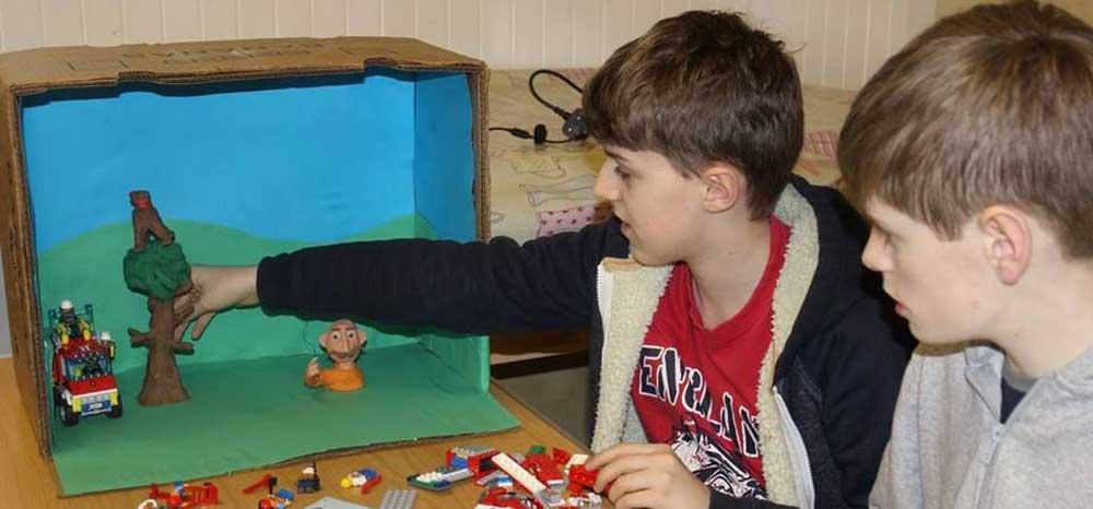 Children's clay animation workshop
