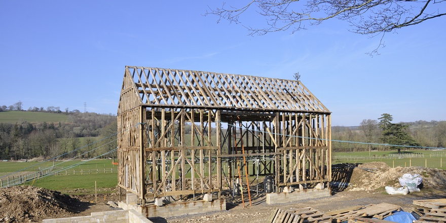 May Day farm buildings reconstruction