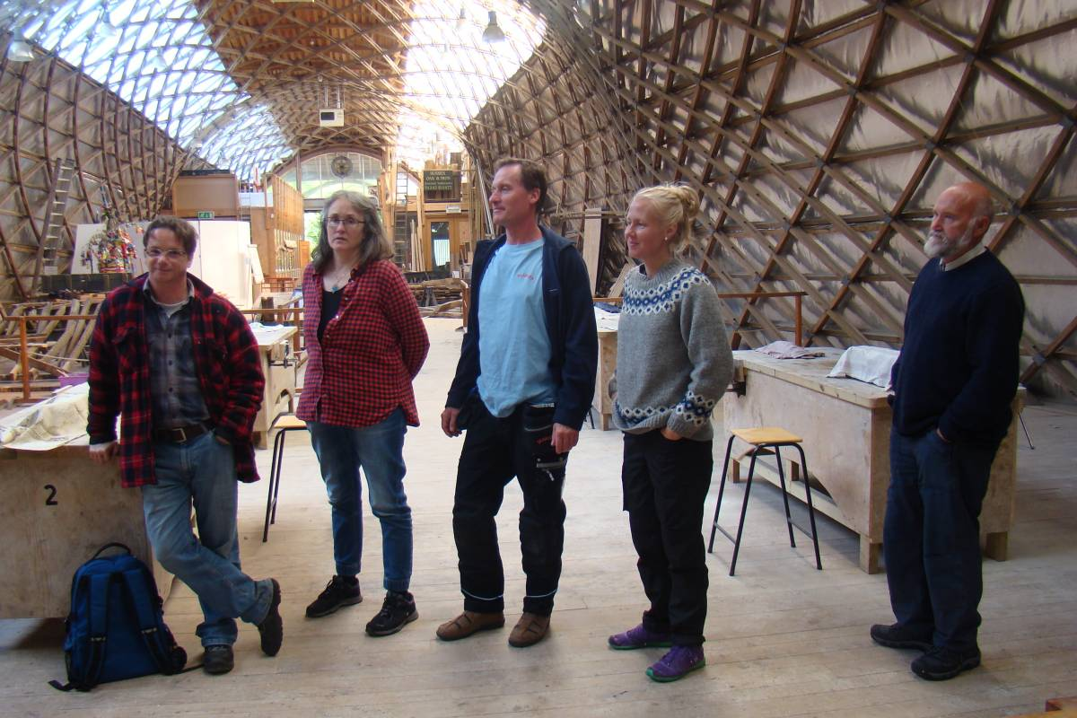 Delegate from European open air museums visit Singleton