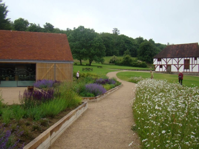Weald & Downland Living Museum visitor centre medicinal garden