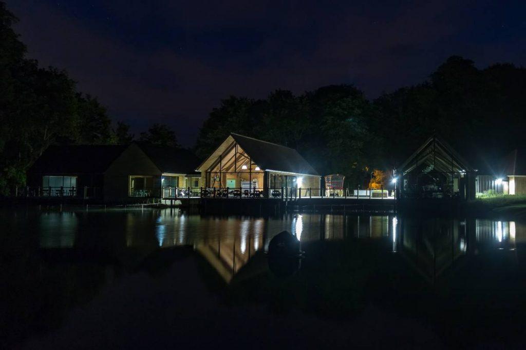 Museum at night